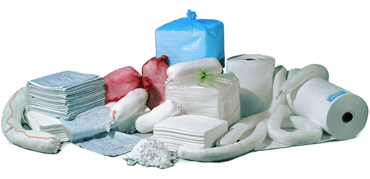 Misc. absorbent products from Norlense.